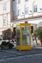 Die Telefonzelle in der Melker Altstadt